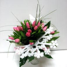 Bożonarodzeniowe Tulipany