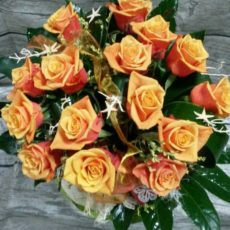Bukiet Miodowych Róż