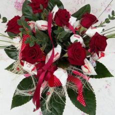 Bukiet Słodkich Róż