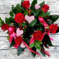 Bukiet Walentynkowe Serce