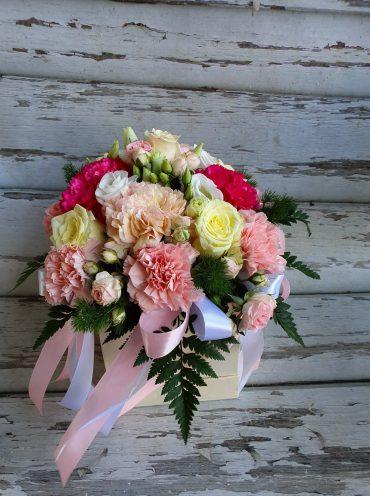 Letni Róż Flowerbox