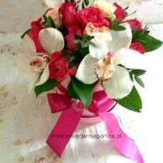 Różowy Flower Box