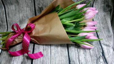 Walentynkowy Pęk Tulipanów